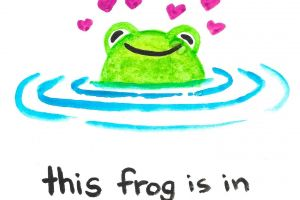 This Frog Is In Love (Two Panel Comic) featured image