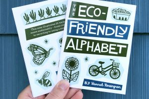 Eco-Friendly Alphabet Zine featured image