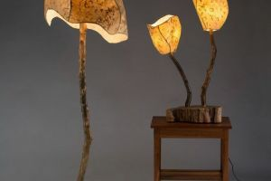 Floor Lamp and Mini Grove