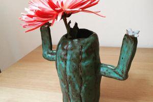 Tiny Cactus Vase