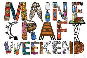 Maine Craft Weekend Logo - 2013