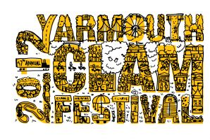 Yarmouth Clam Festival T-Shirt Concept - 2012