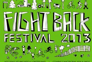 Fight Back Festival T-Shirt/Poster - 2013