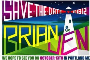 Brian & Jen Save the Date - 2012