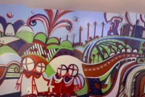 Studio Mural - 2010