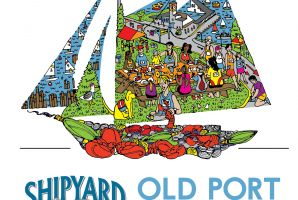 Old Port Half Marathon Race Shirt - 2015