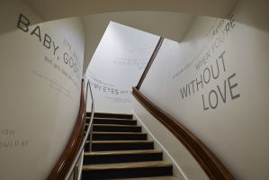 Type Installation for Crewe Gallery
