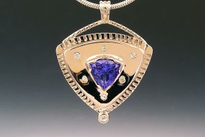 Tanzanite Pendant 1 featured image