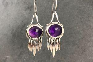 Spike Fringe Earrings featured image