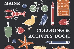 Portland, Maine Coloring Book