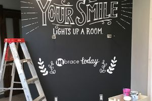 Mural for MBrace Orthodontics