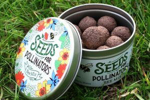 Seeds for Pollinators Package Design