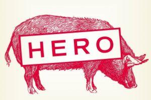 HERO Restaurant Branding