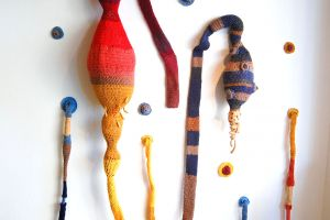 Investigations of Clay and Crochet Through Installation Art featured image