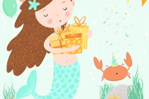 A Mermaid Birthday  featured image