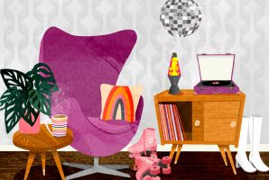 Retro Seventies Inspired Room featured image