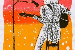 Brian May Risograph Tribute
