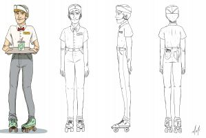 Character Design– Devin (turnaround) featured image