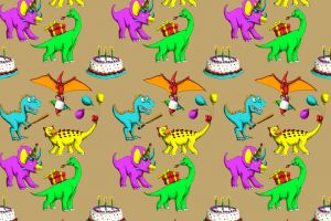 Dinosaur Wrapping Paper featured image
