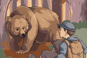 The Bear and The Traveler