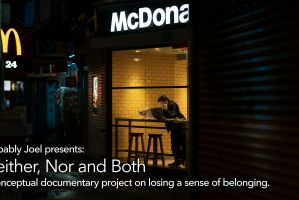 Neither, Nor and Both: a conceptual storytelling project on losing a sense of belonging
