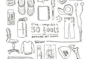 30 Tools for Surviving Art School
