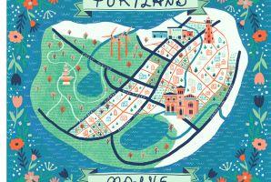 Portland Map 2118