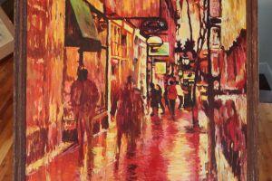Walk On Exchange Street - Sepia featured image