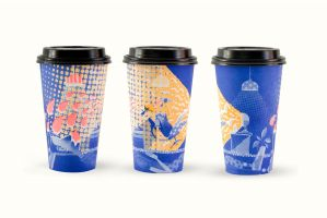 Risograph Coffee Cup Sleeve featured image