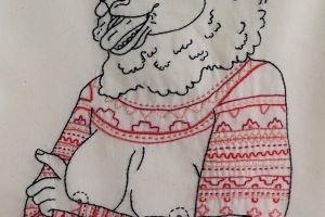Icelandic Sheepwoman (Pink)