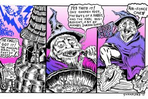 Wizard's Feet Comic Page featured image